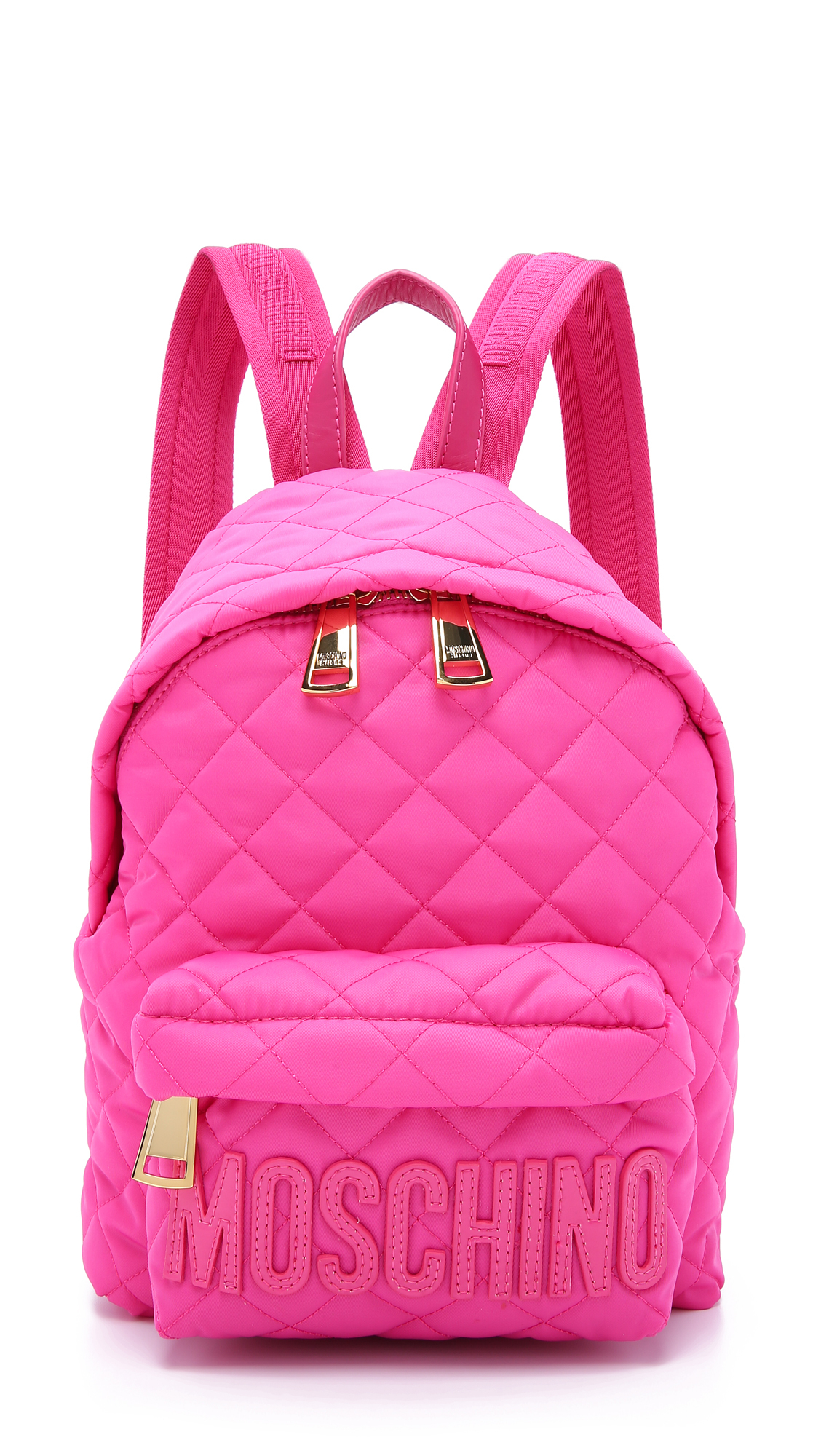 Moschino Backpack Pink In Pink Lyst