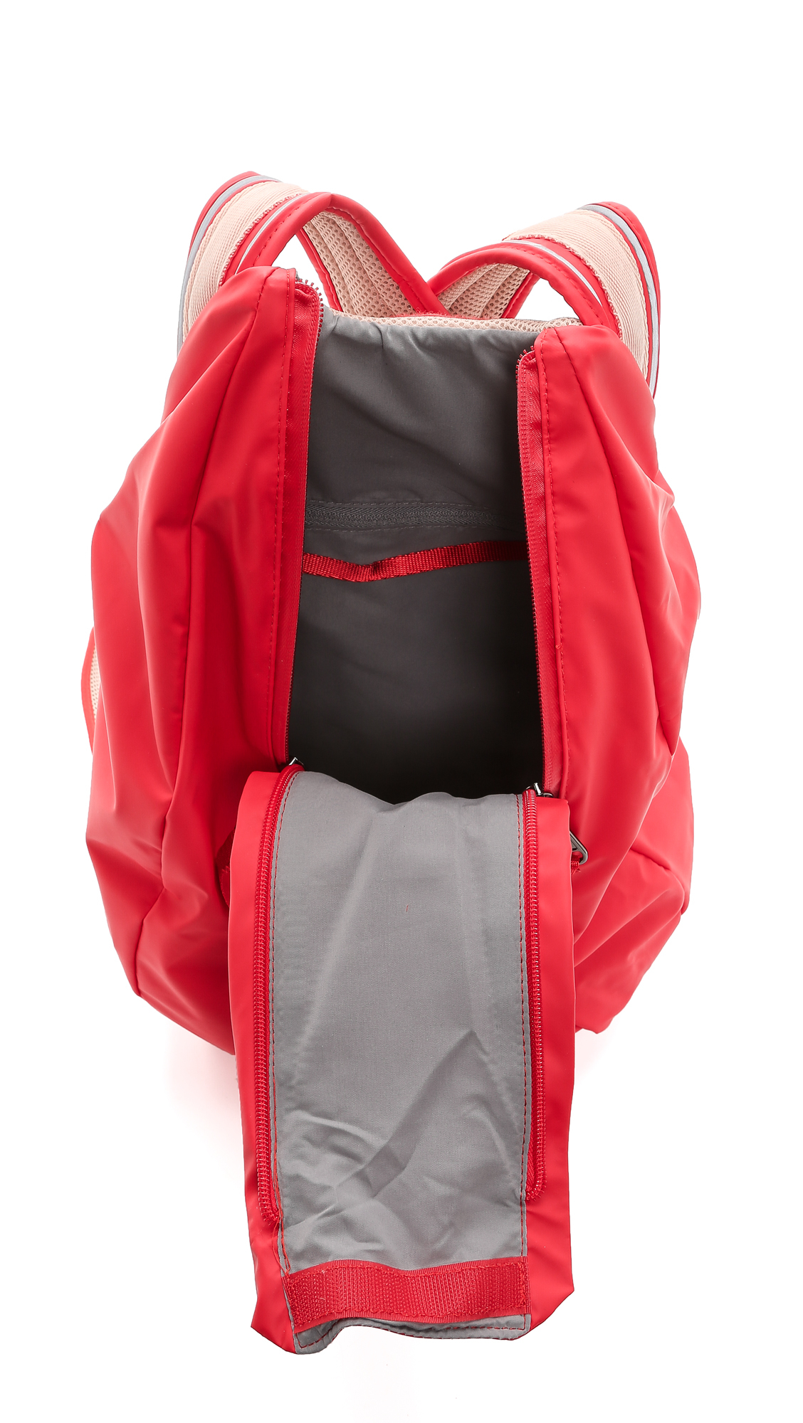 863d3a486a Lyst - adidas By Stella McCartney Running Cycling Backpack - Scarlet ...