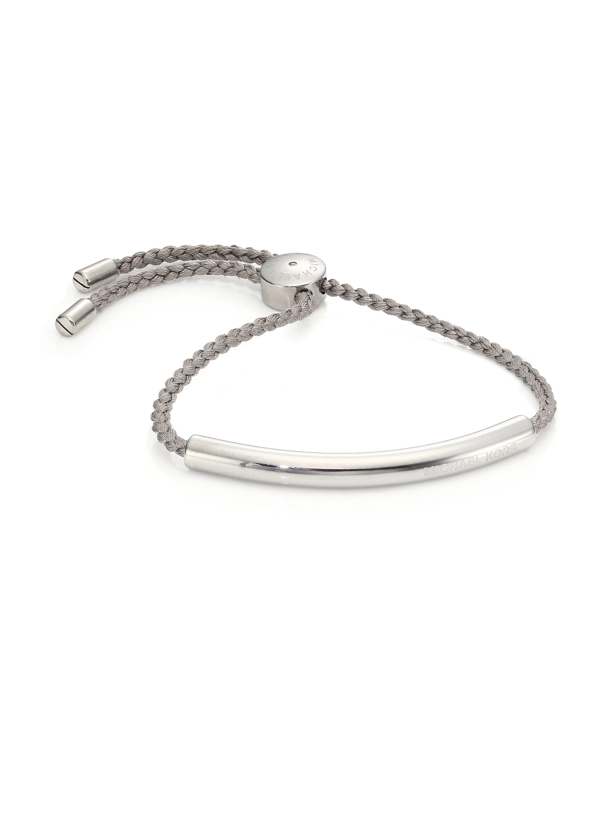 jewellery plated rhodium bead silver slider sterling bracelet