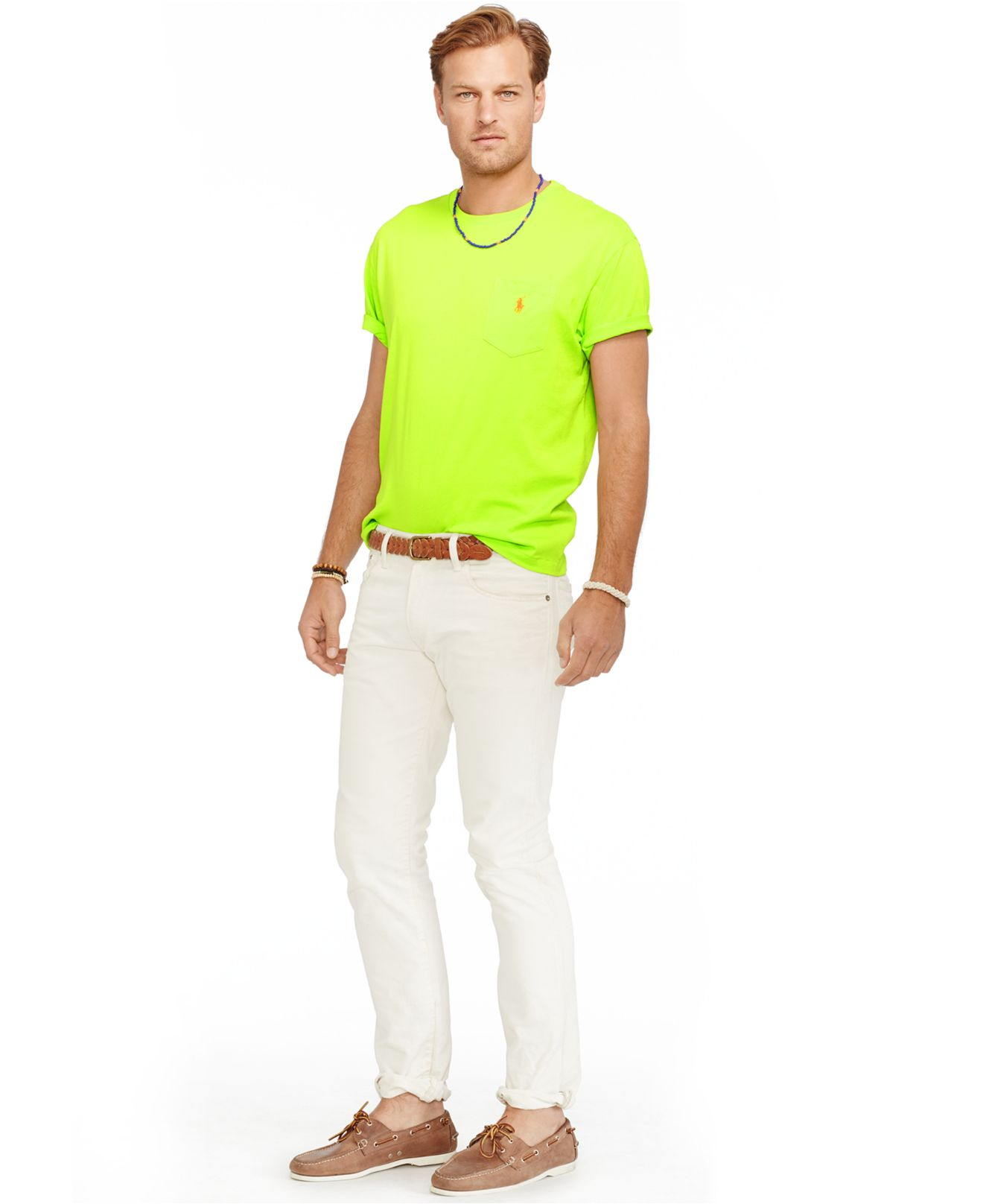 Polo Ralph Lauren Big And Tall Classic Fit Jersey Pocket