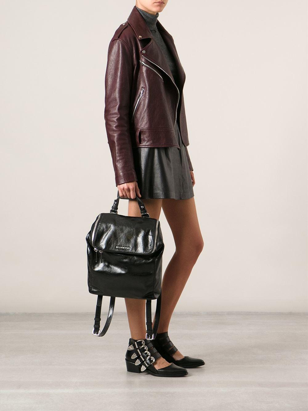 f59b64831be7 MICHAEL Michael Kors 'lisbeth' Backpack in Black - Lyst