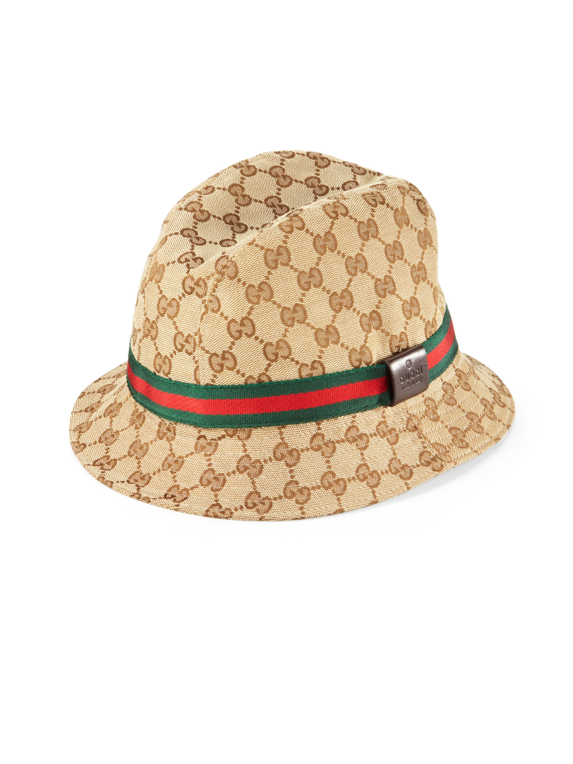 be3c138f7964fc Gucci Gg Fedora in Natural for Men - Lyst