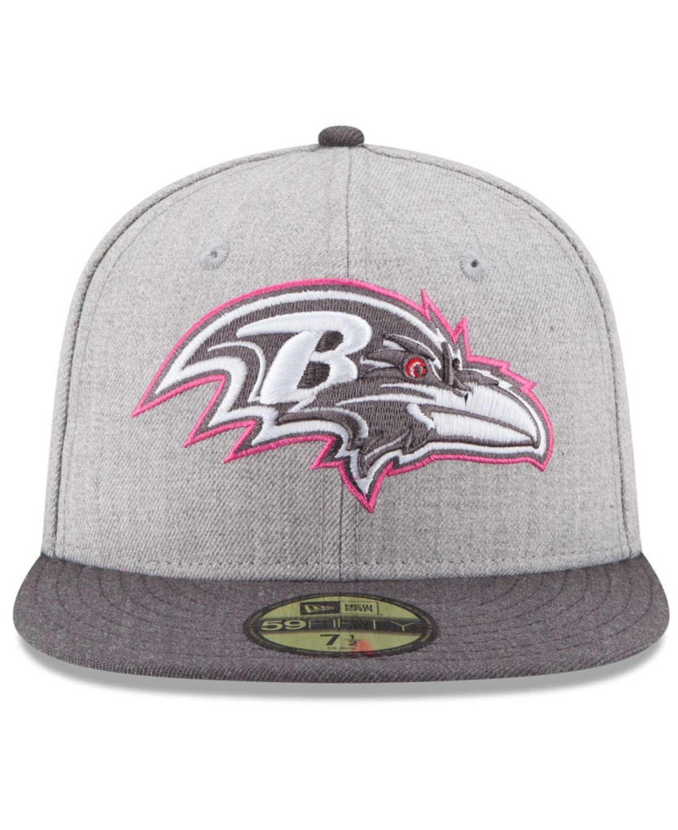 dd78adaf36aa0 norway lyst ktz baltimore ravens breast cancer awareness 59fifty cap in  a4751 30217