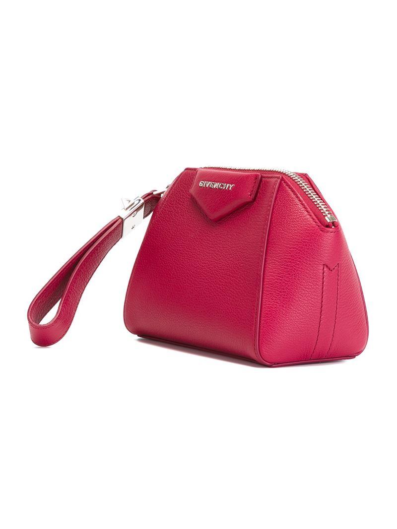 Antigona clutch - Pink & Purple Givenchy z8TCboWmU