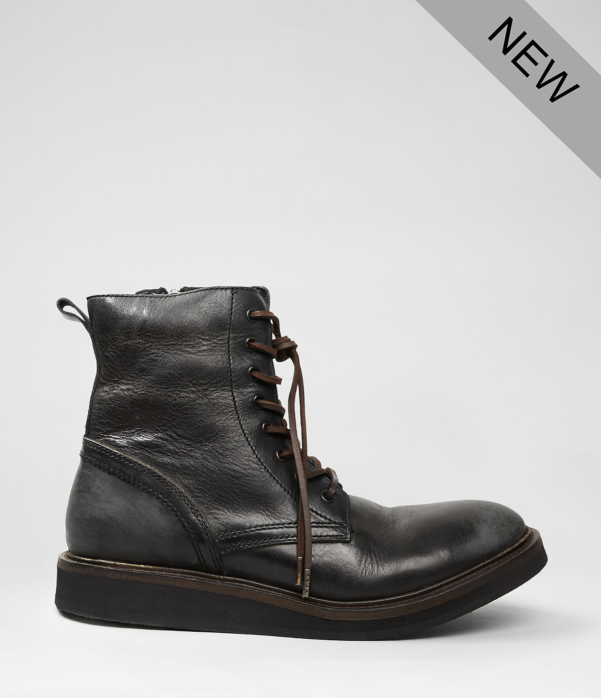 allsaints hiroto boot in black for lyst