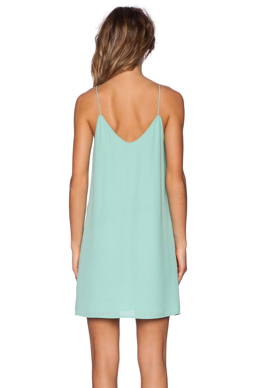 Blaque Label Tank Dress In Green | Lyst