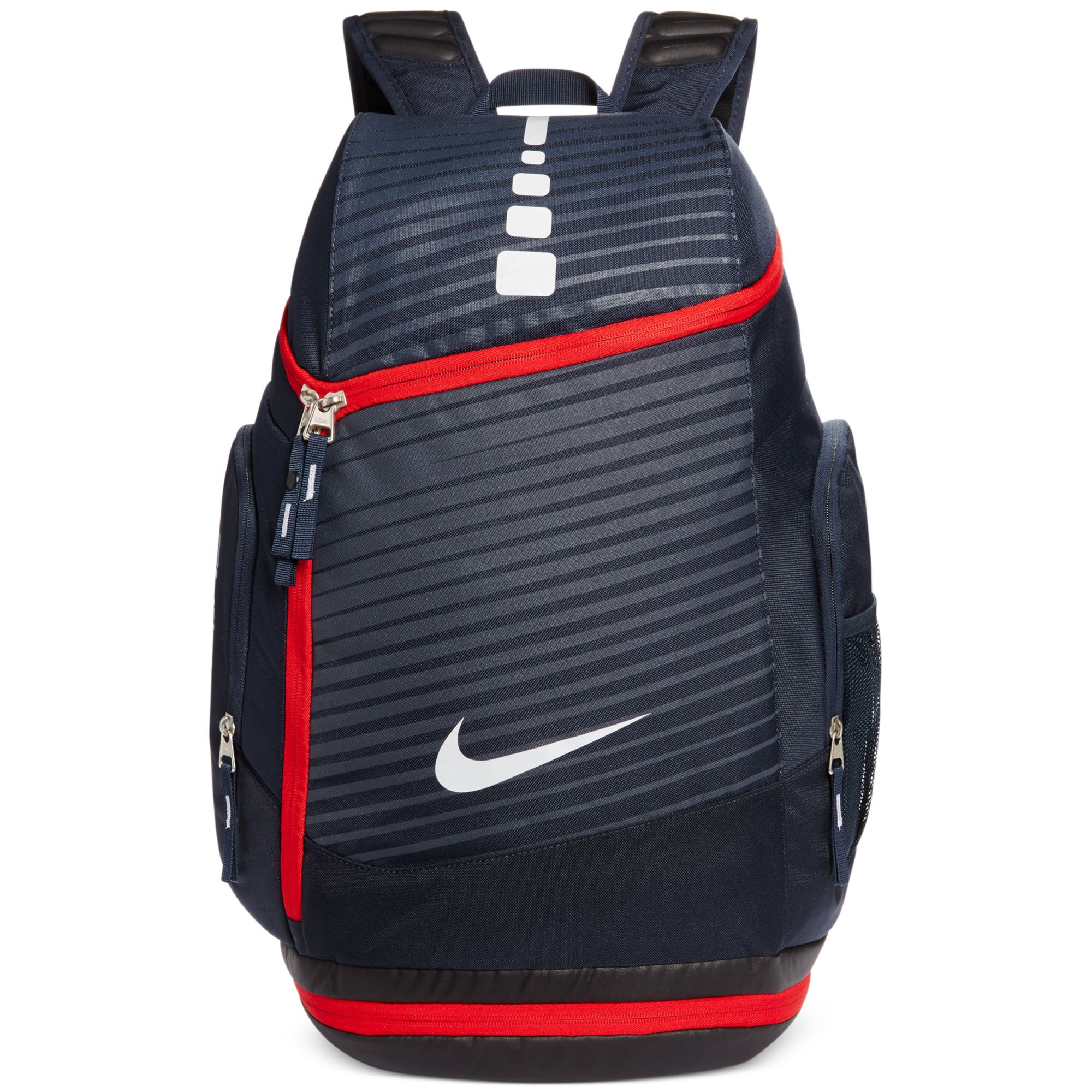 Lyst - Nike Hoops Elite Max Printed Backpack in Blue for Men 9b7396494d109