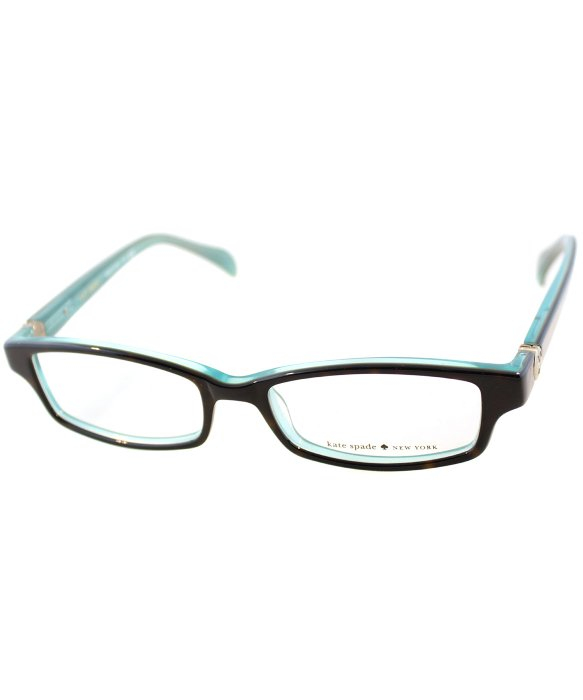 Kate Spade Elisabeth Eyeglasses Frames : Kate spade new york Ks Elisabeth Jey Tortoise Aqua ...