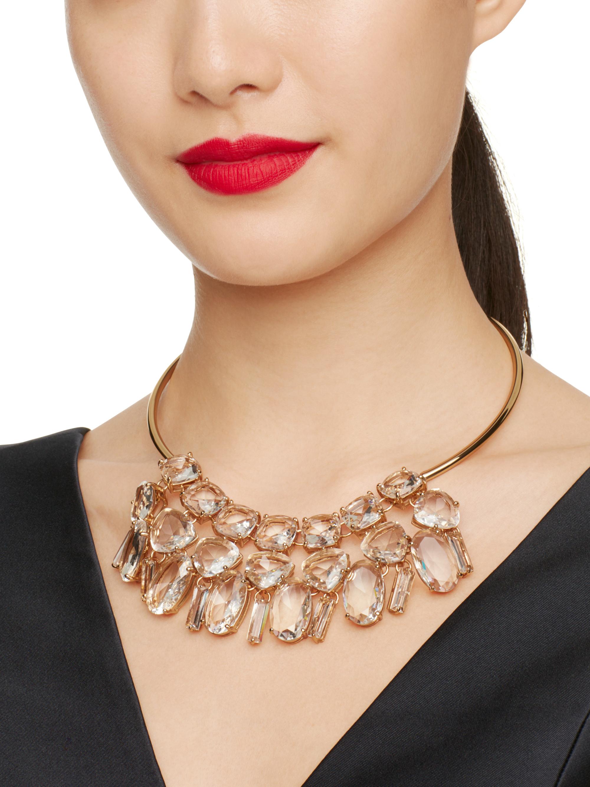 Lyst Kate Spade New York Vegas Jewels Statement Collar