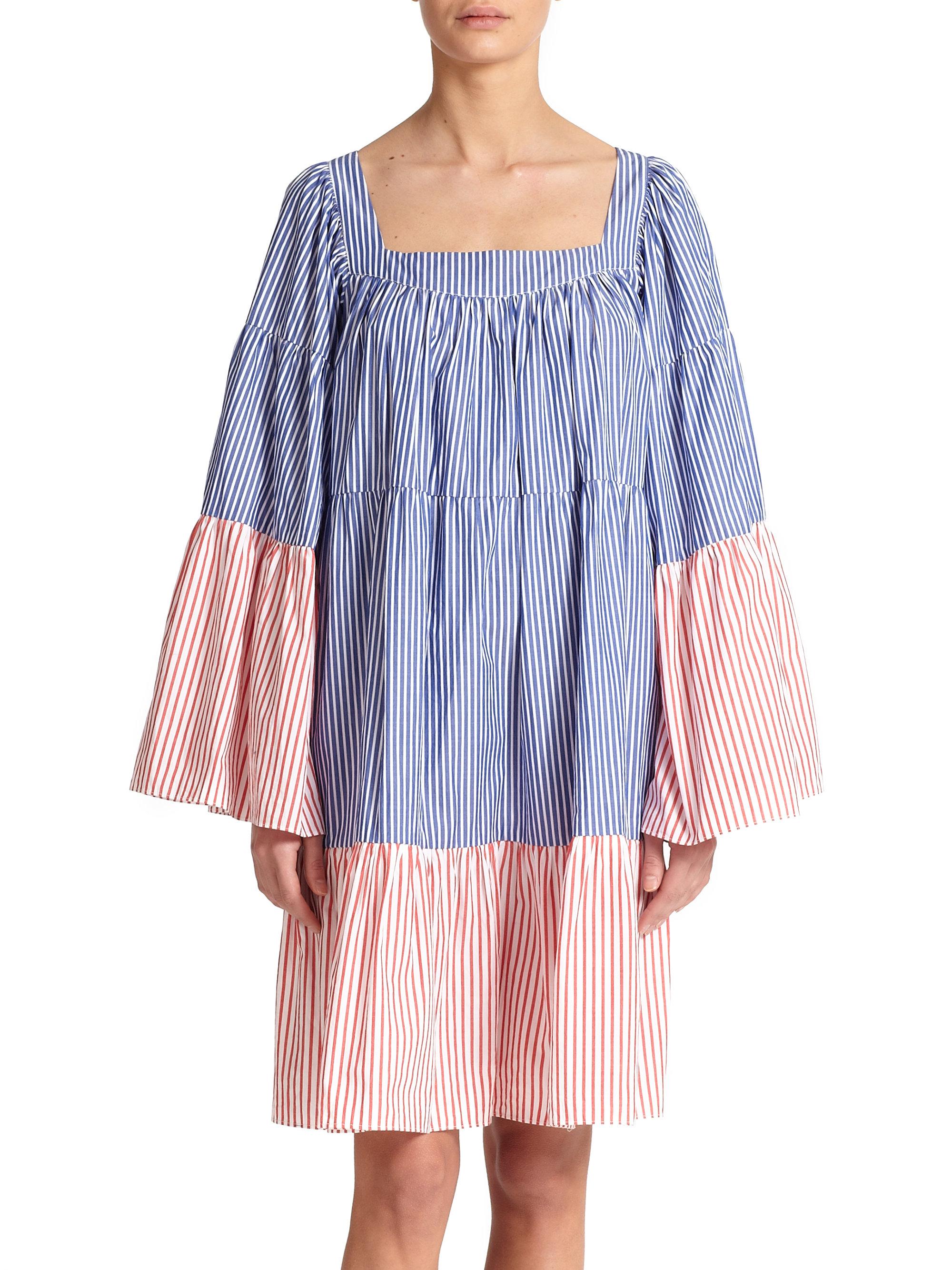 Peasant cotton dress Lisa Marie Fernandez 2DMXlT