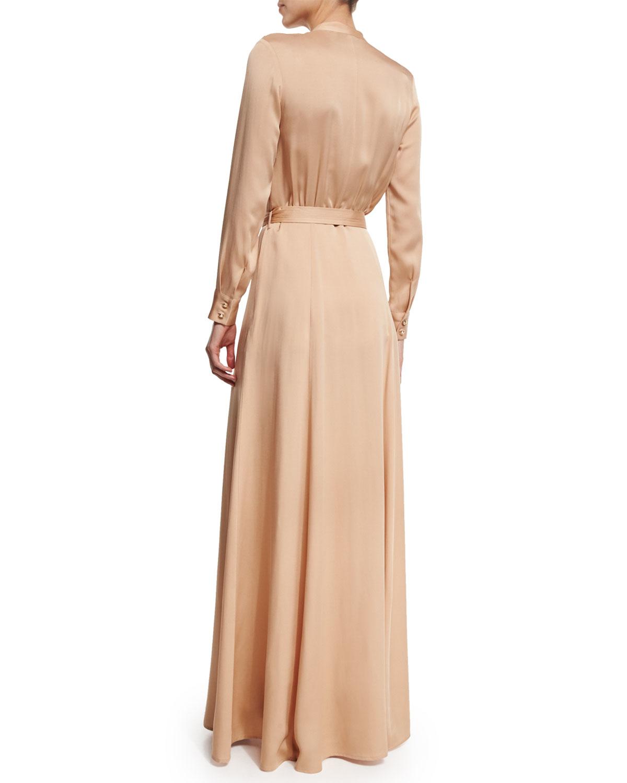 Long sleeve dress in 365 crepe online prom toronto