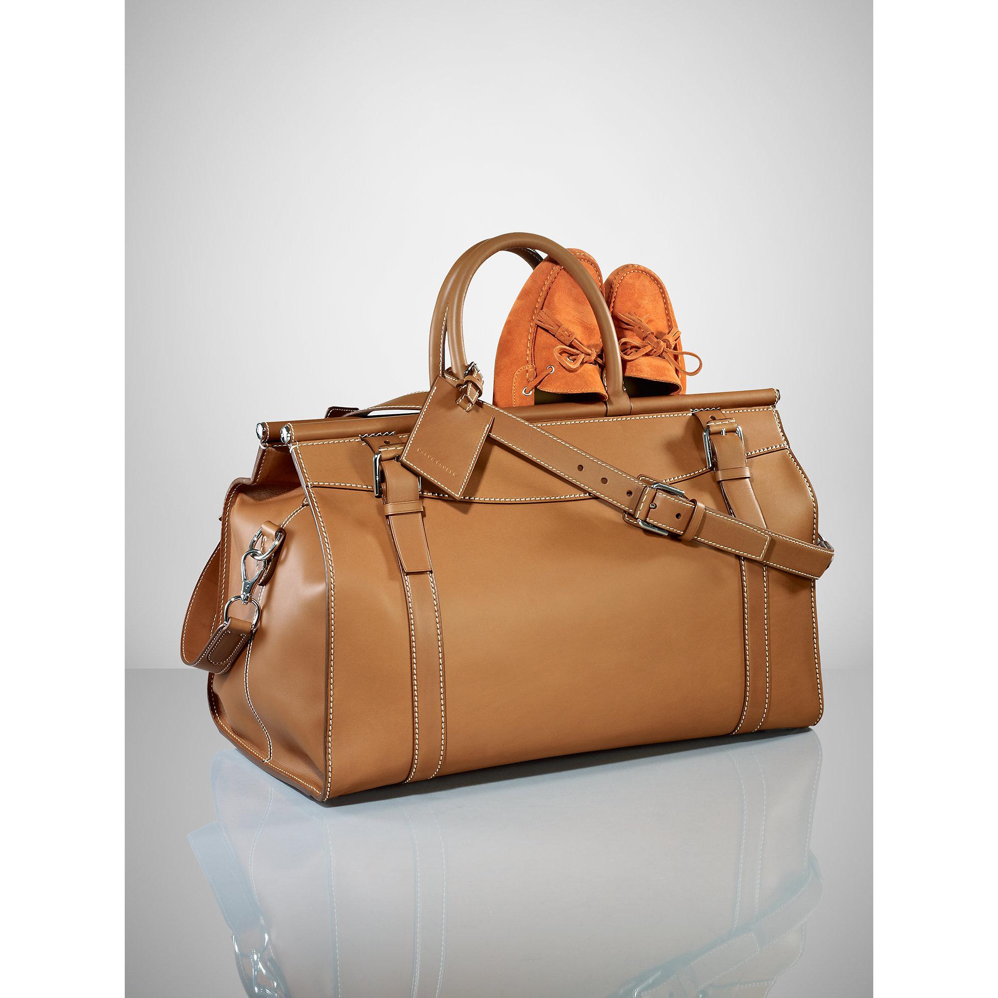 Lyst - Pink Pony Saddle Weekender Bag in Metallic for Men 3e530b1ae6db8