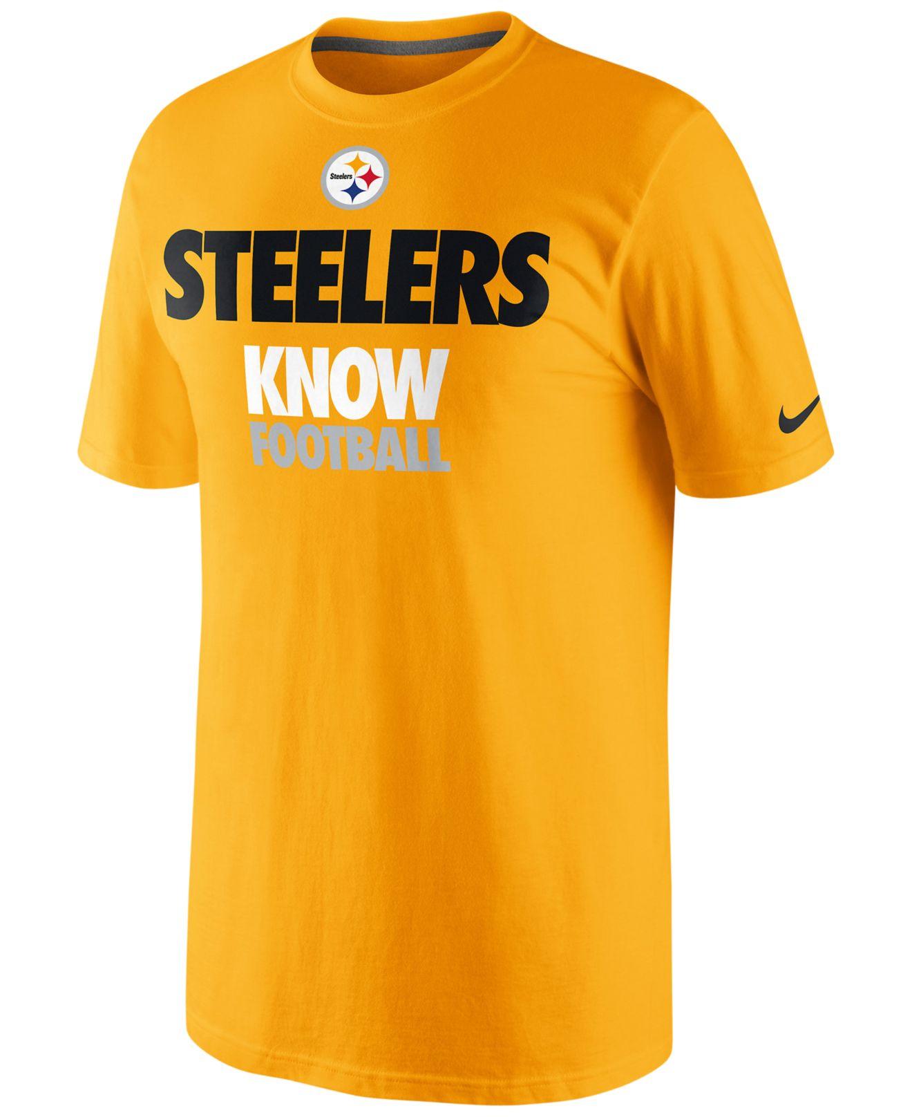 5895dbadf Lyst - Nike Pittsburgh Steelers Nfl Draft T-Shirt 13 in Orange for Men