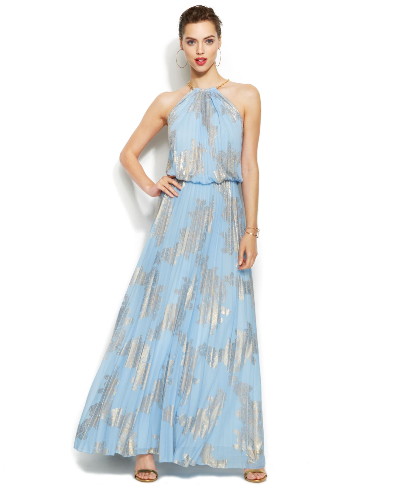 Purchase > xscape light blue dress, Up to 61% OFF