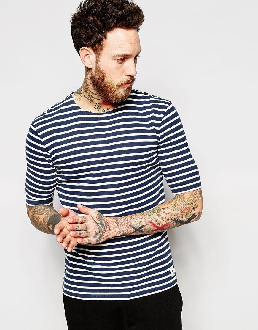 674c2ceb06 Breton Stripe T Shirt Mens - DREAMWORKS