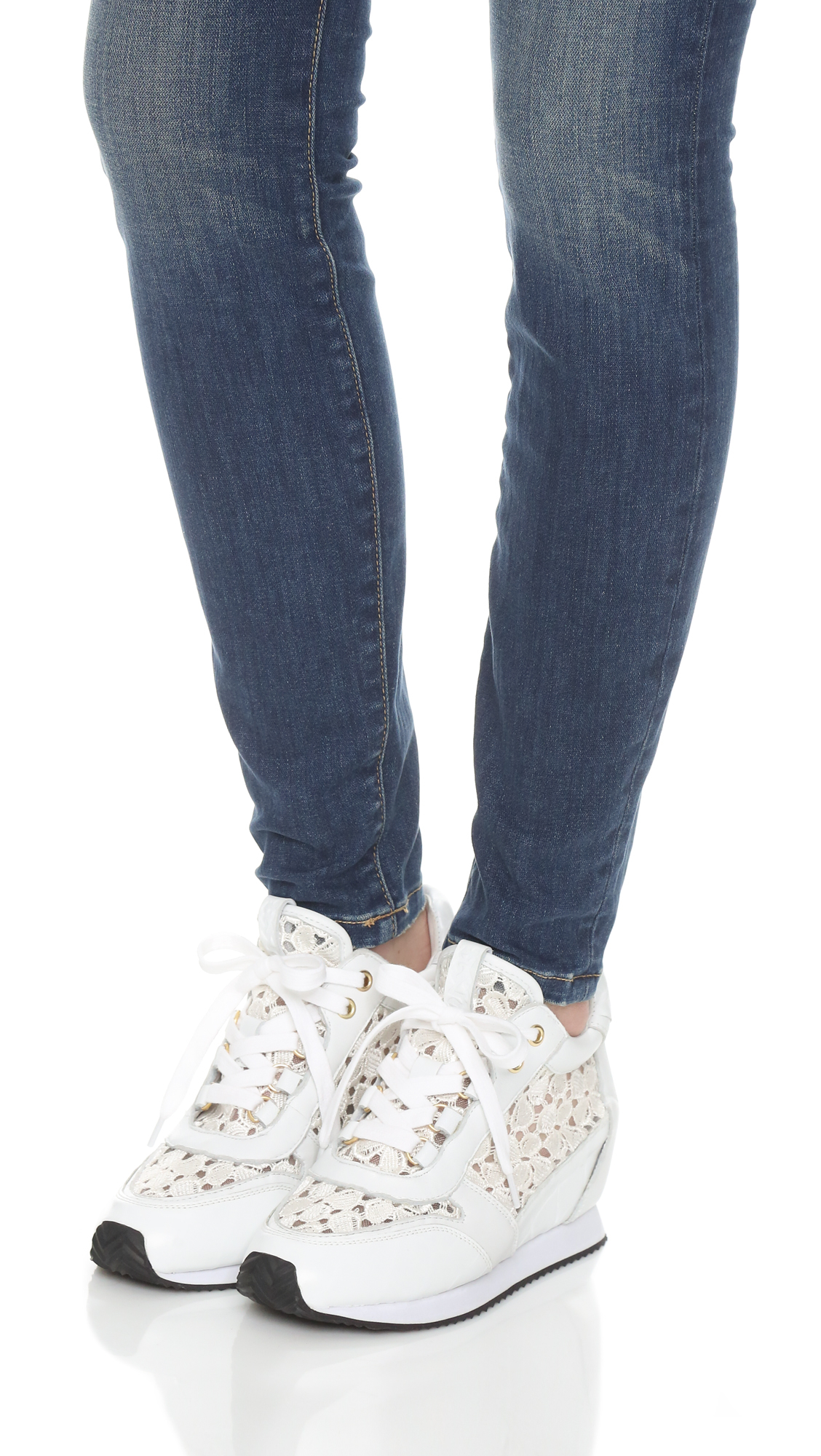 Lyst Ash Dream Lace Sneakers In White