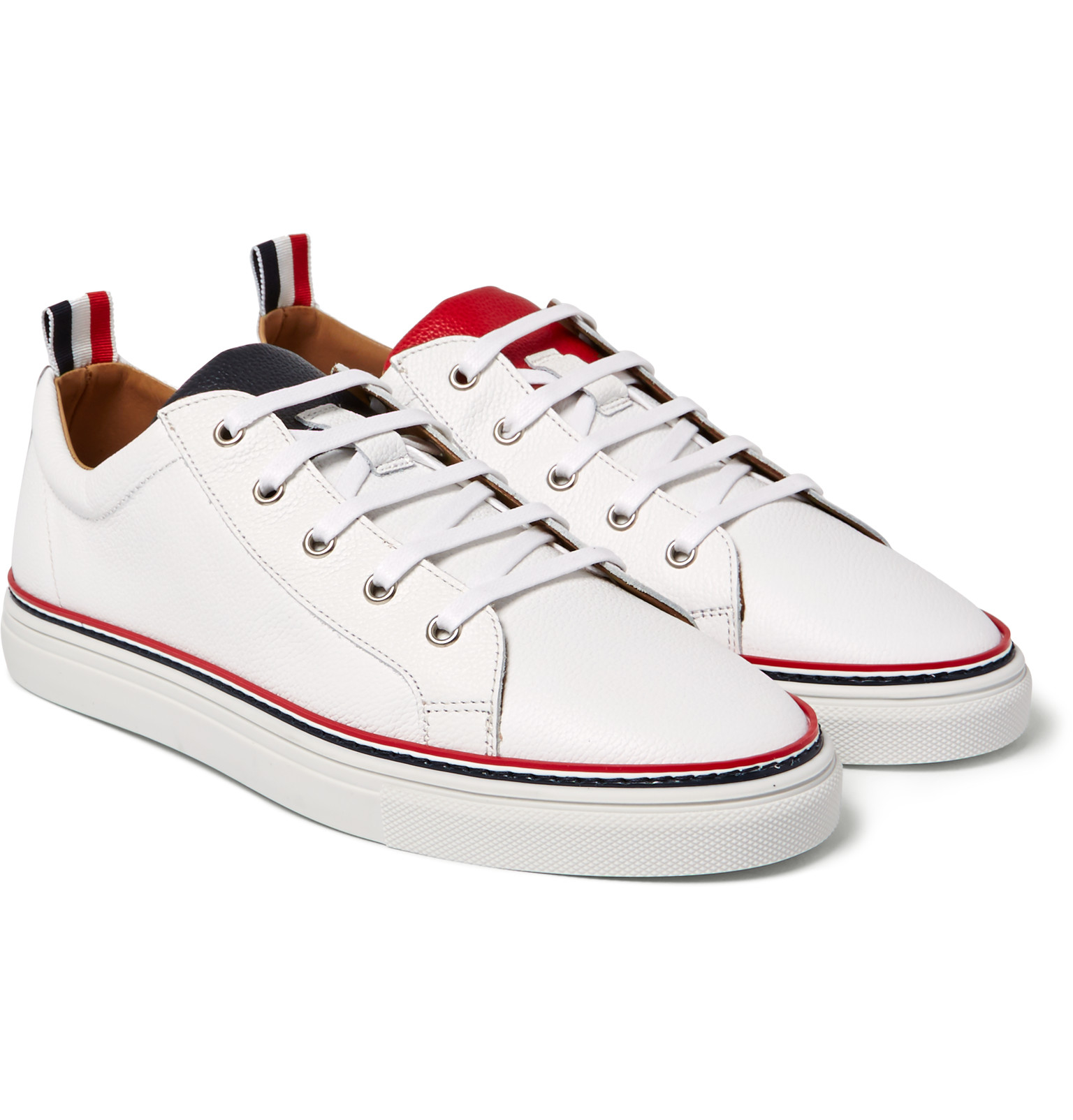 striped sneakers - White Thom Browne AcnTaM7