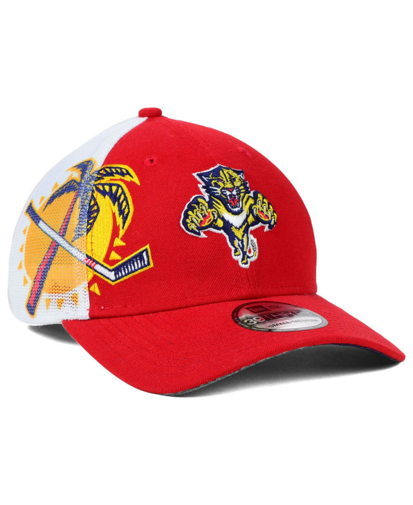 new product 86407 6076d ... wholesale lyst ktz florida panthers flex 39thirty cap in red for men  4c484 2ef09