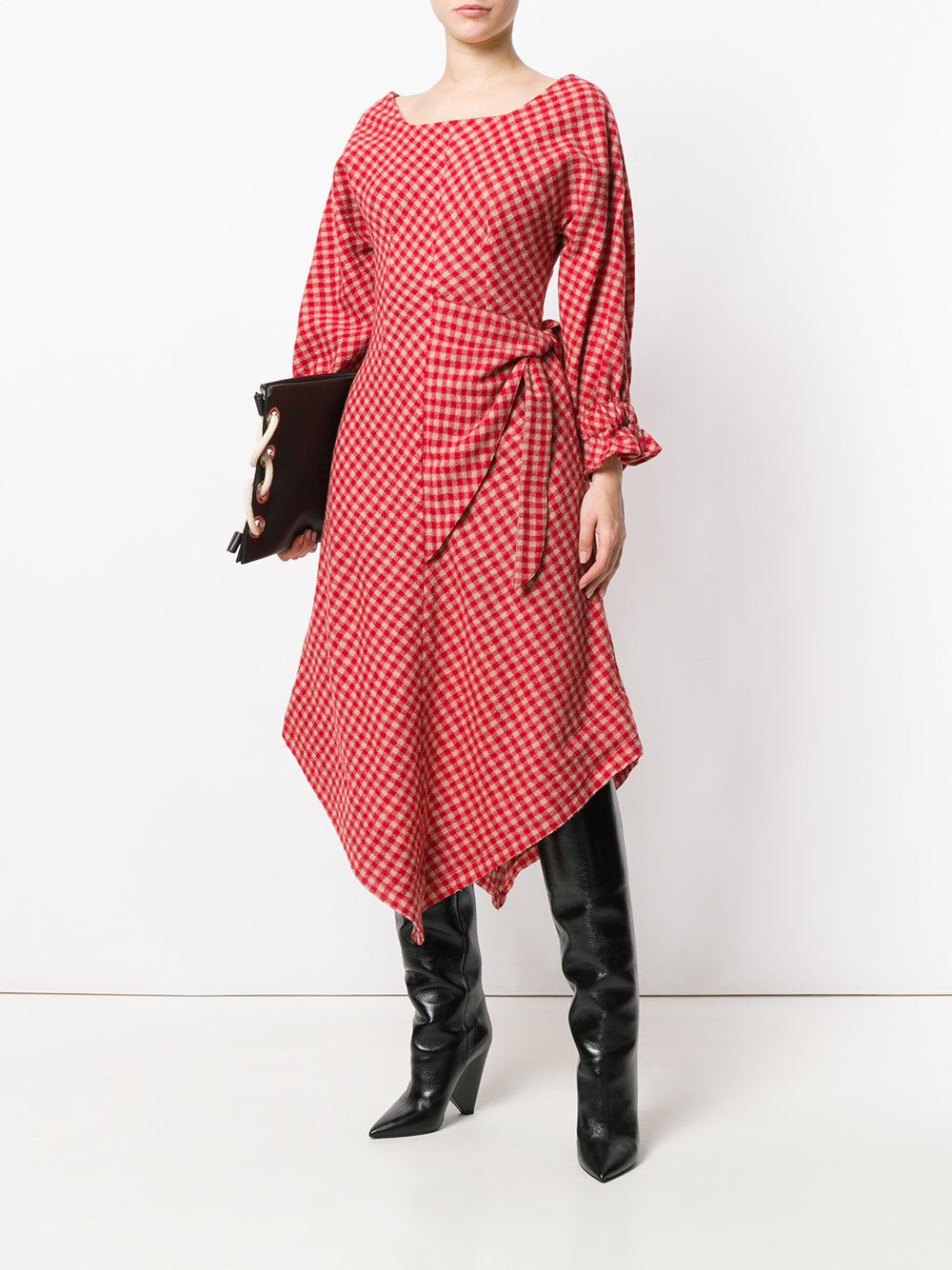 checkered picnic dress Vejas GUuwcFL