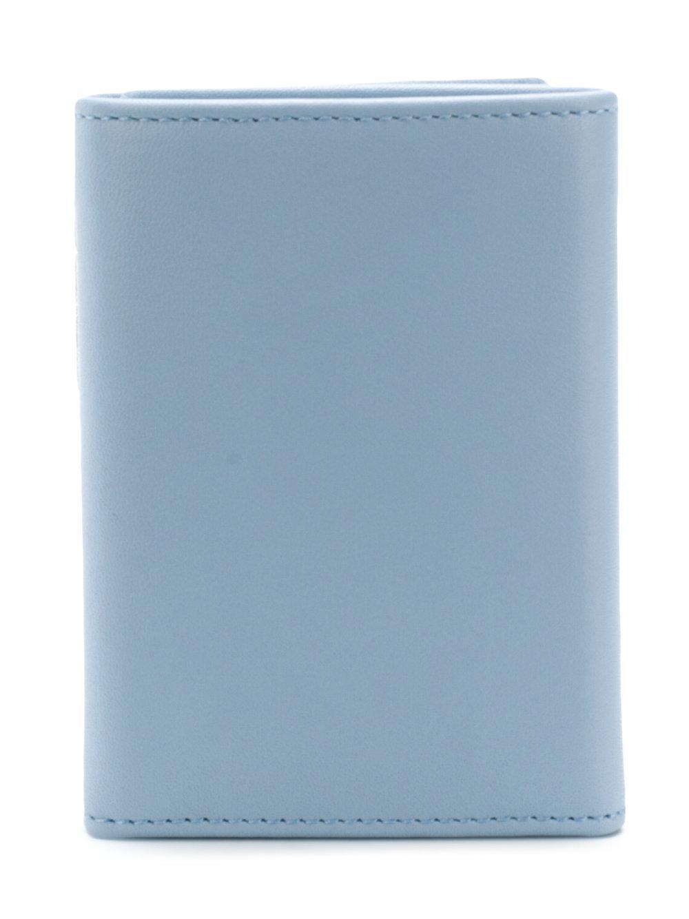318988c42b66 Emilio Pucci Slim Logo Wallet in Blue - Lyst