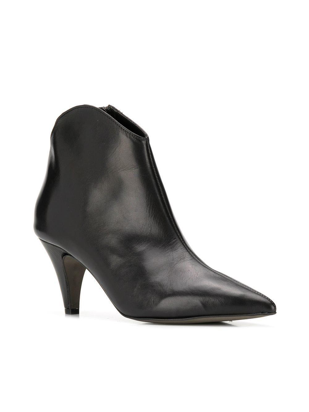 920b1f498c1 Rebecca Minkoff - Black Pointed Ankle Boots - Lyst. View fullscreen