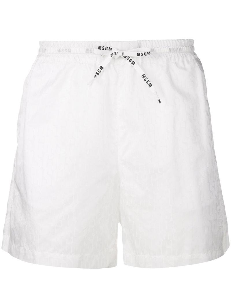 branded swimming trunks - Black Msgm Manchester Buy Cheap Lowest Price Outlet Extremely MJ0Ly