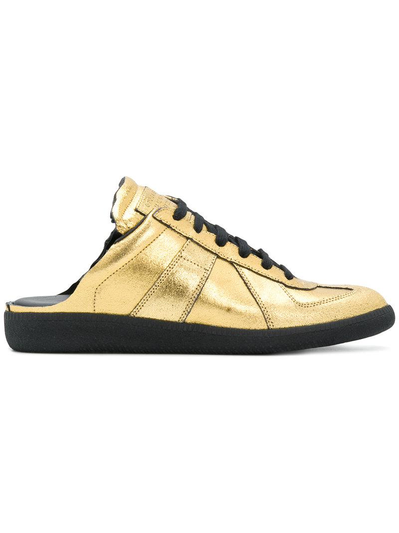 Maison Margiela metallic mule sneakers popular for sale big sale cheap online sale find great order cheap price cheap choice qCAZPo