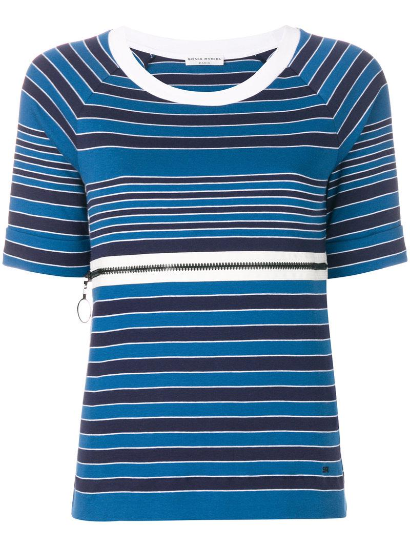 Sonia Rykiel shortsleeved nautical T-shirt Discount Many Kinds Of Discount Official Exclusive Cheap Price Buy Cheap Visa Payment 3vp7fmDr