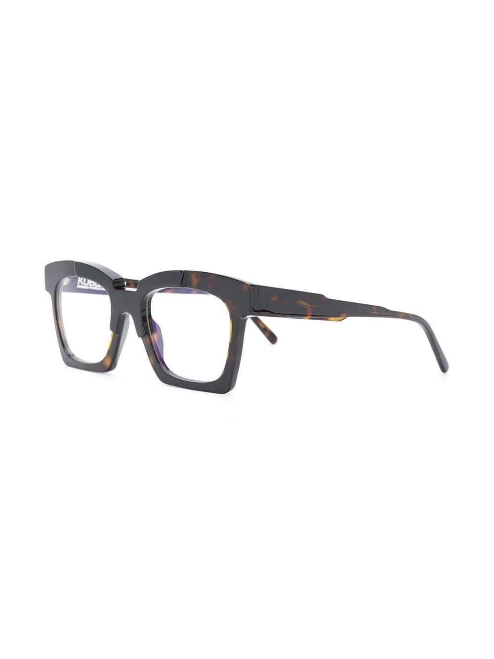 9ac843c8b73 Kuboraum - Brown Square Frame Glasses for Men - Lyst. View fullscreen