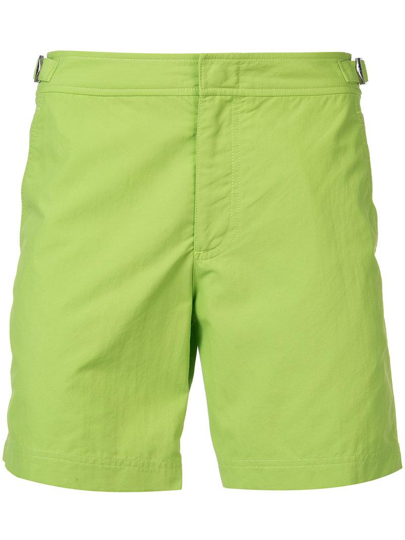61e96dad3c8 Orlebar Brown Classic Swim Shorts in Green for Men - Lyst