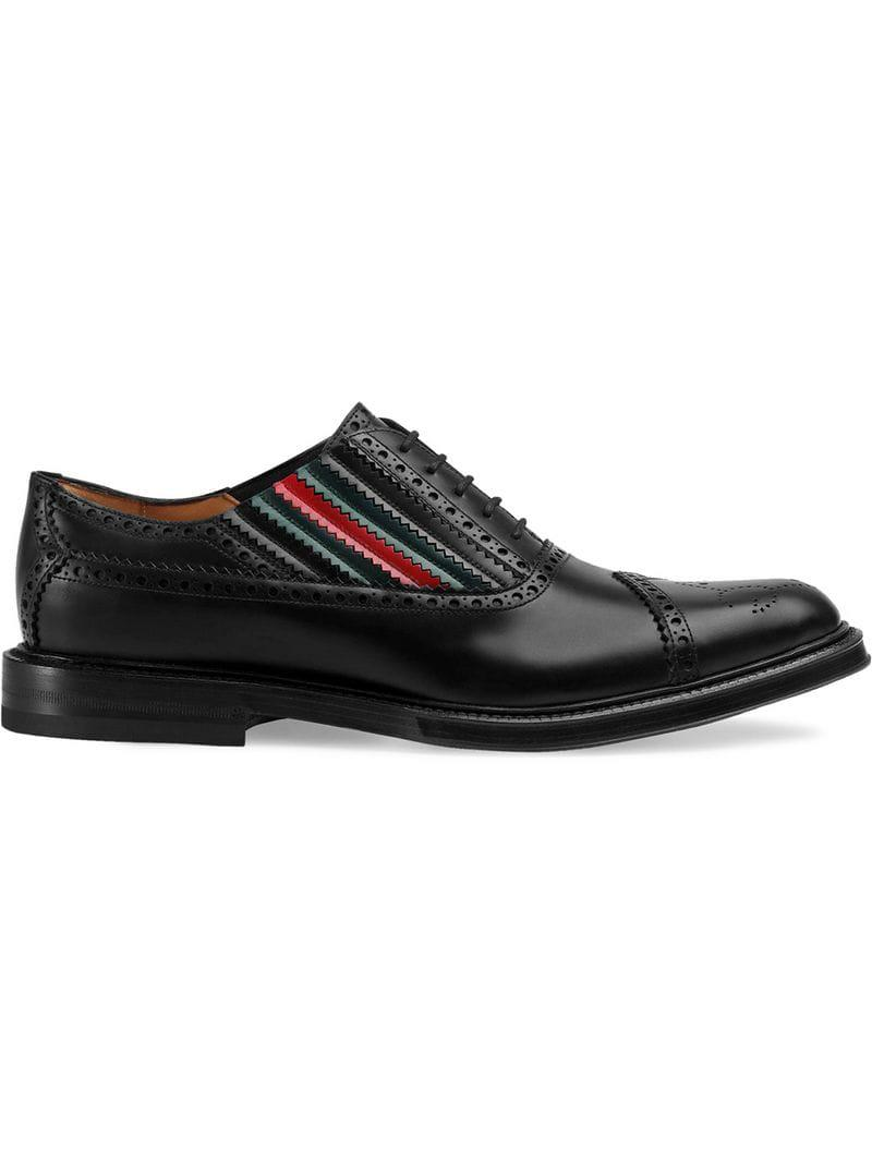 70840137d5022 Lyst - Gucci Lace-up Shoes in Black for Men
