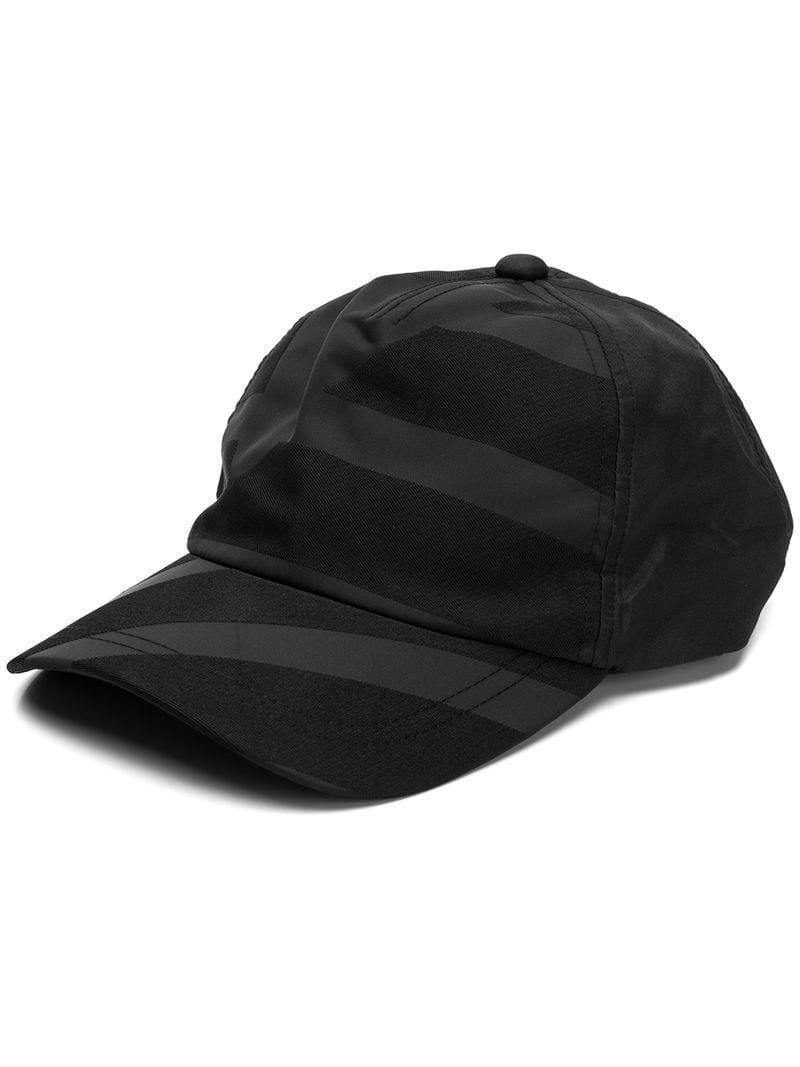 f84a3775c783f Emporio Armani Maxi Logo Hat in Black for Men - Lyst