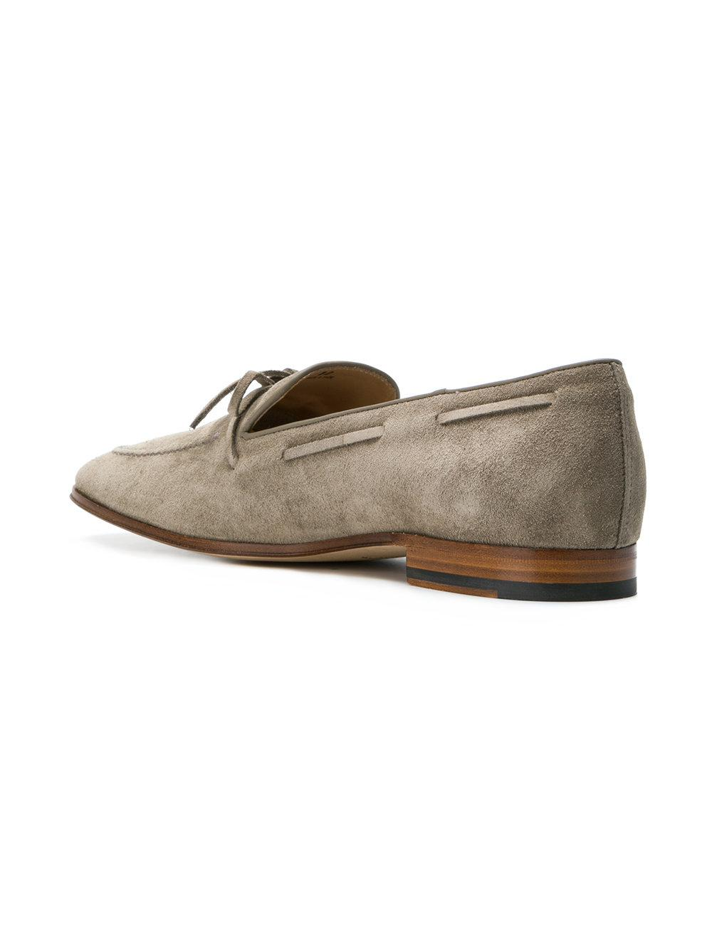 bow detail loafers - Grey Tod's FK03WT9M