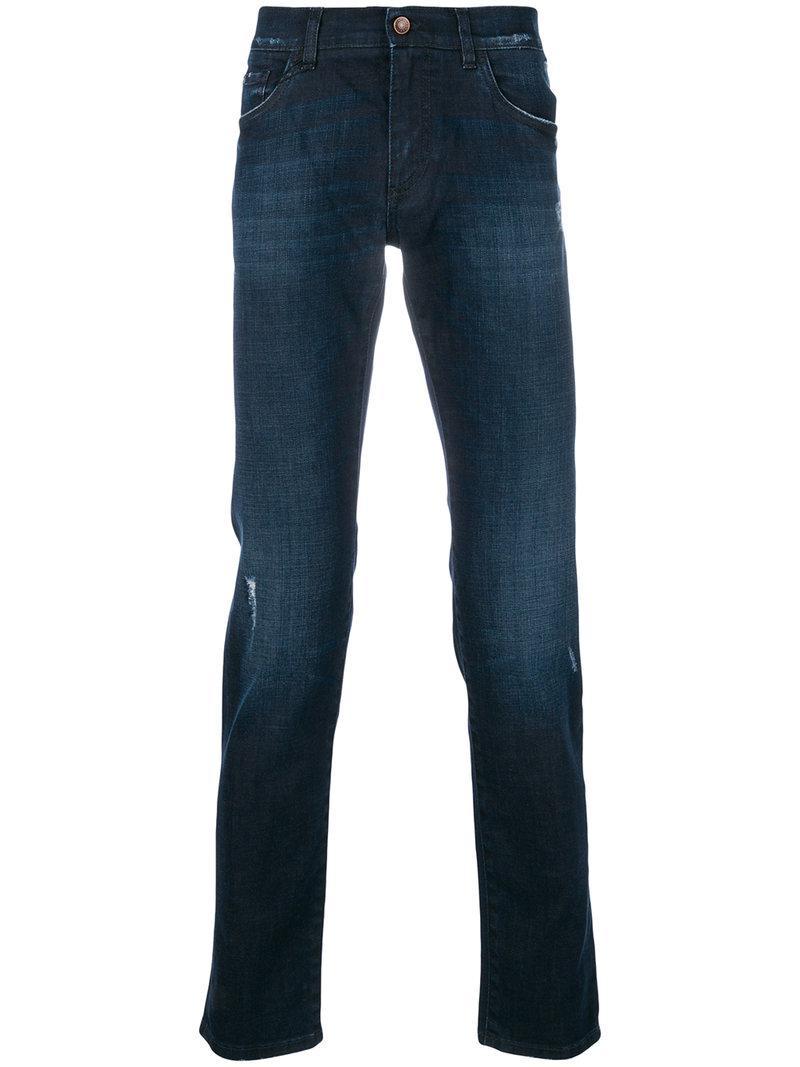 lyst dolce gabbana comfort fit jeans in blue for men. Black Bedroom Furniture Sets. Home Design Ideas