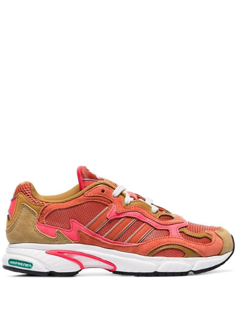 hot sale online 636bd 6a781 adidas. Women s Red, Orange And Yellow Temper Run Sneakers