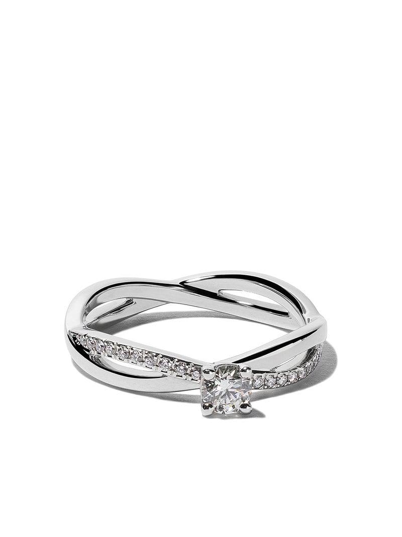 4804acdecf1d Lyst - Anillo My First Infinity Solitaire con diamantes De Beers de ...