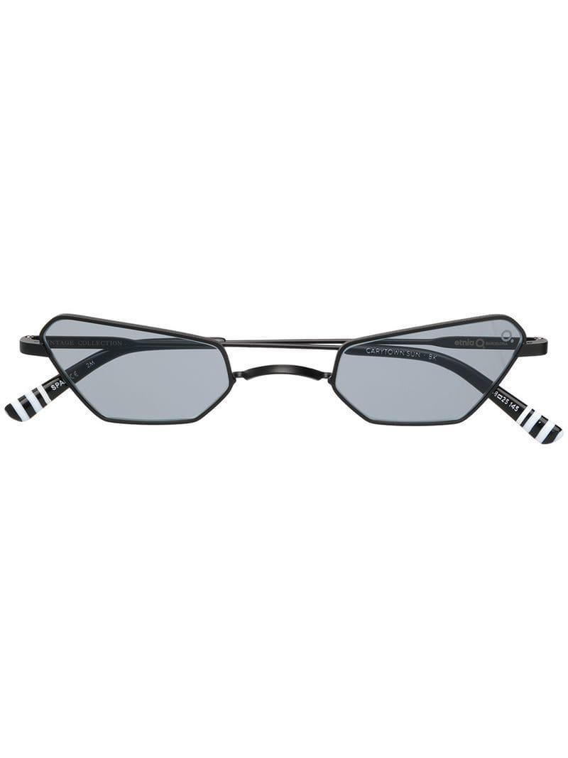 0fd2cb45142 Etnia Barcelona Carytown Sunglasses in Black - Lyst