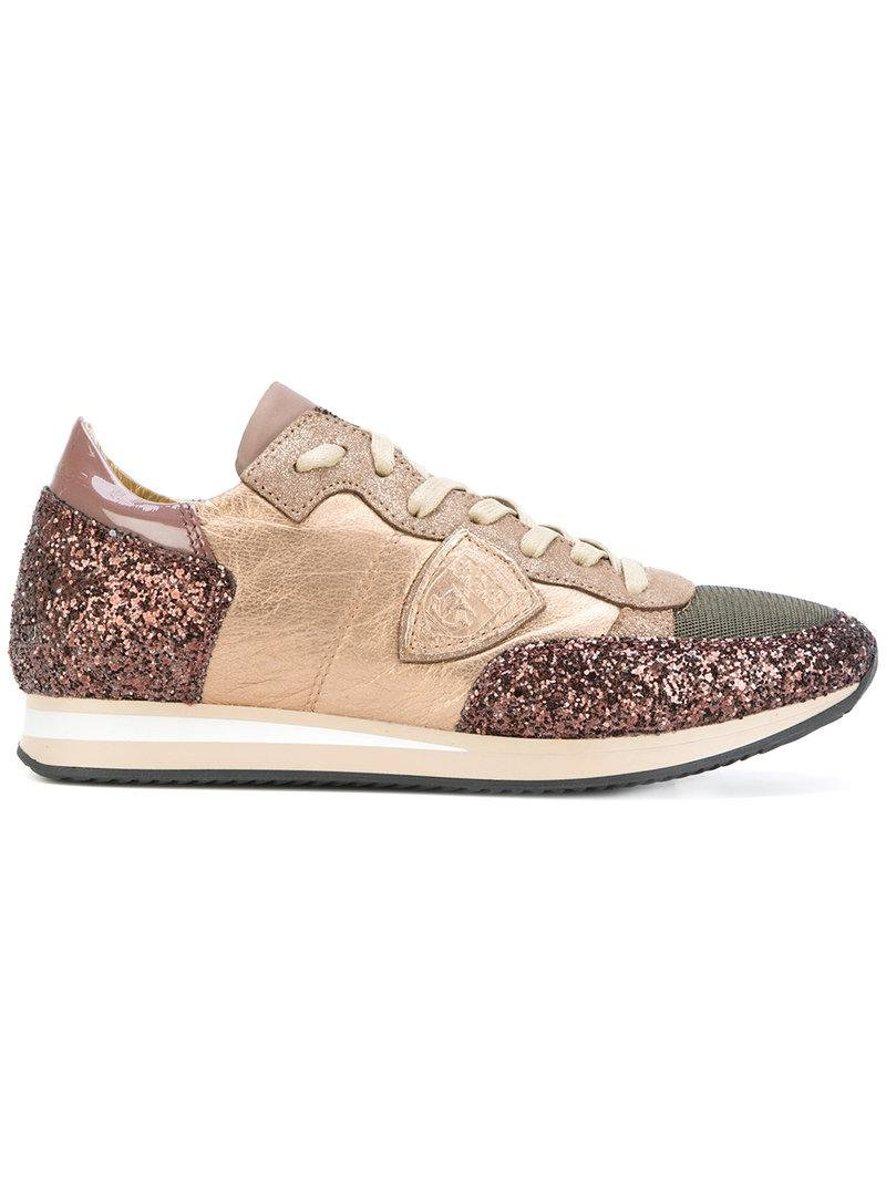 Philippe Model glitter panel sneakers buy cheap the cheapest cheap cheap online eOQ2ydYwZ