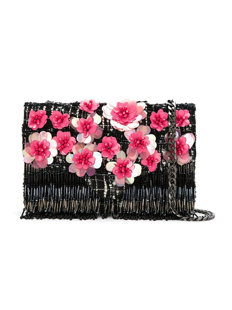 Buy Cheap Best Store To Get Collections Embroidered Shoulder Bag