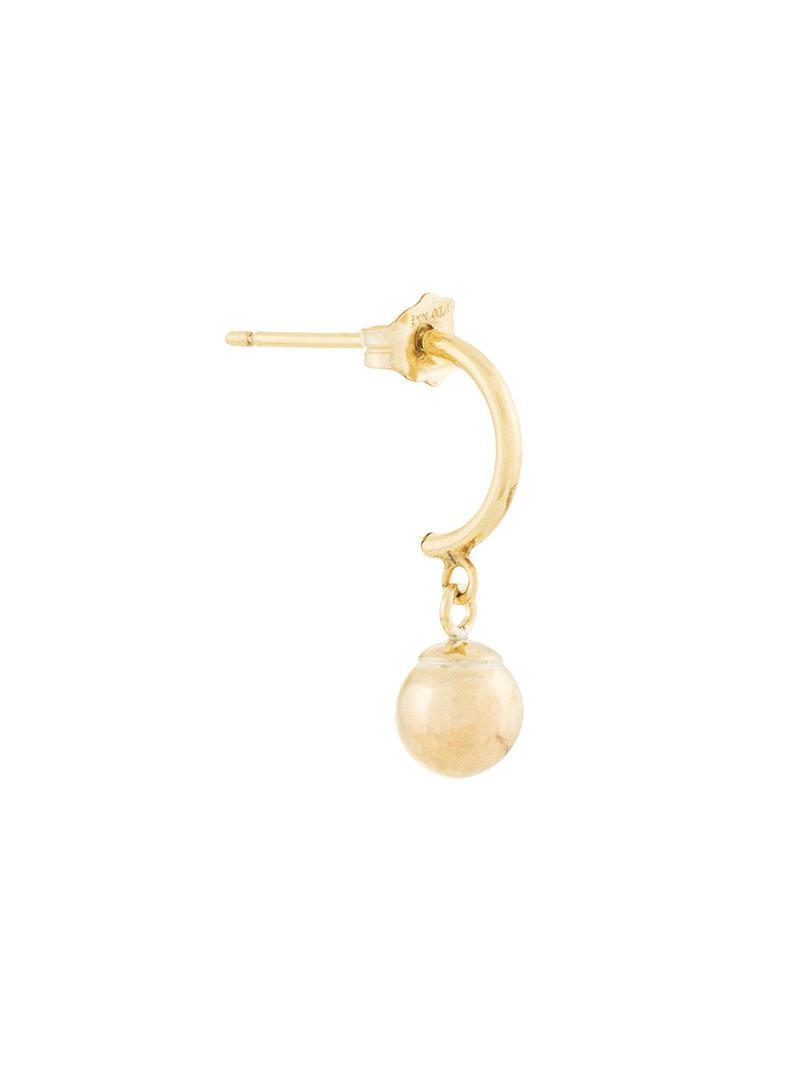 PetiteGrand Gold Ball Mix and Match earring - Metallic B9Wy3r