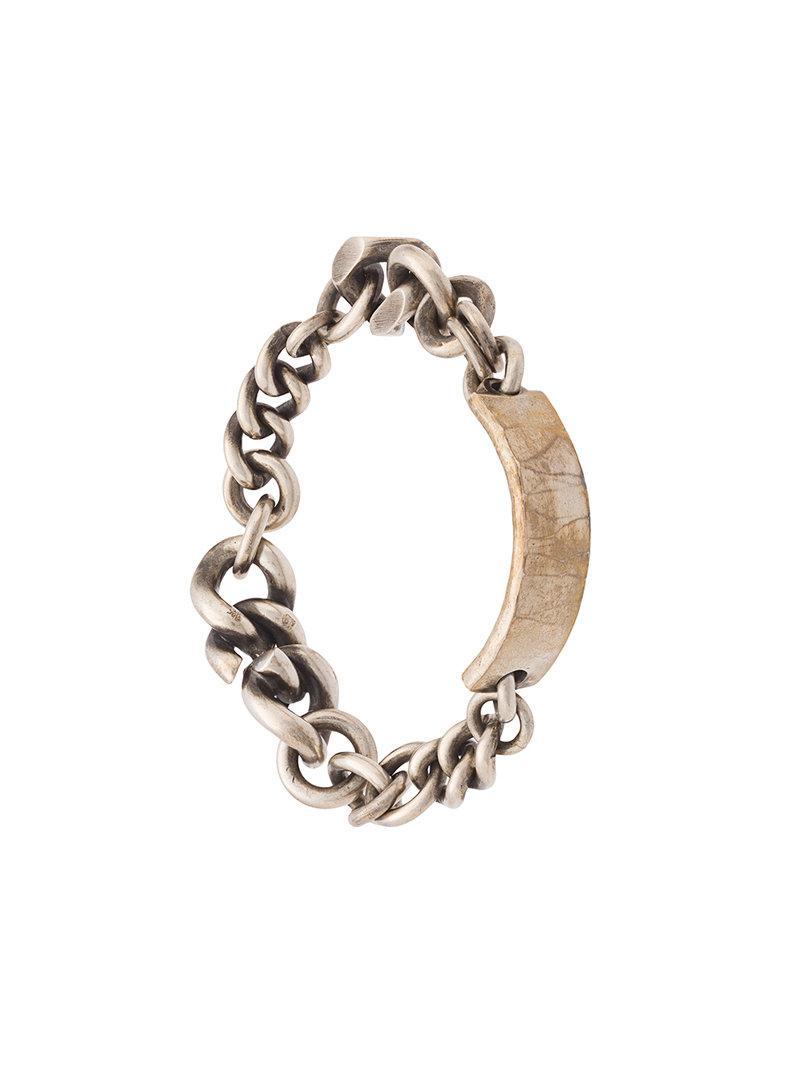 chain-link bracelet - Metallic Werkstatt M vRnH6ZwHY
