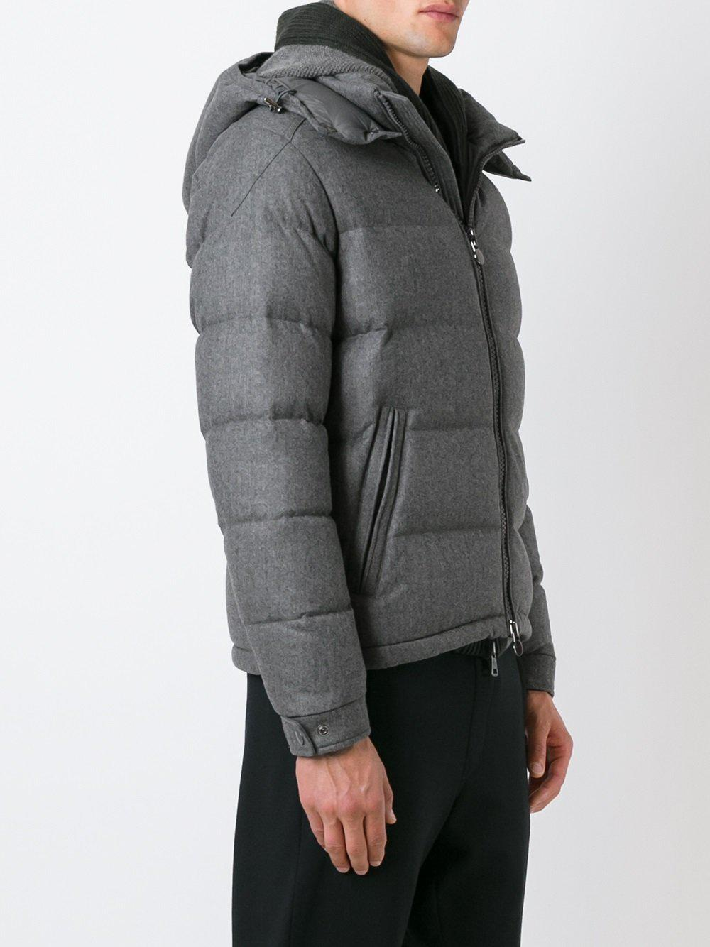 Moncler - Gray Doudoune