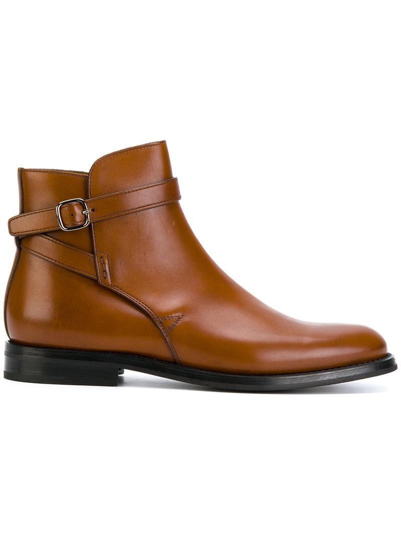 Church's Buckle strap boots