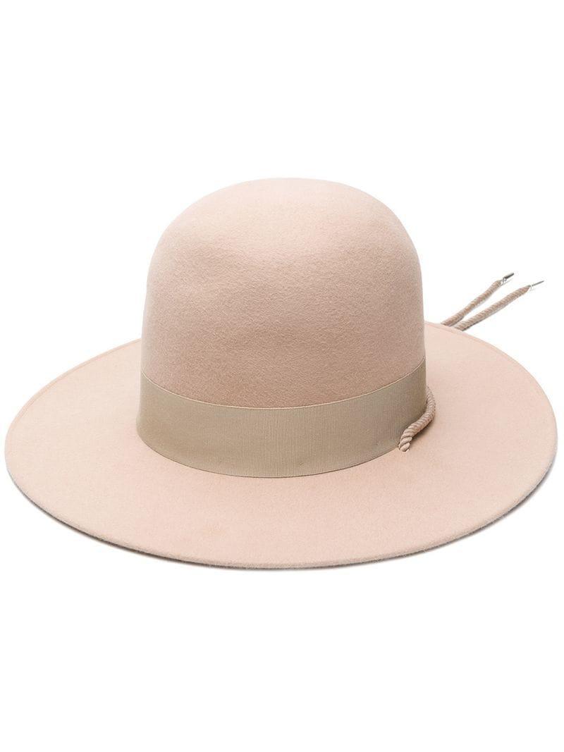 Lyst - Borsalino Lissandria Hat in Natural e253d33bc322