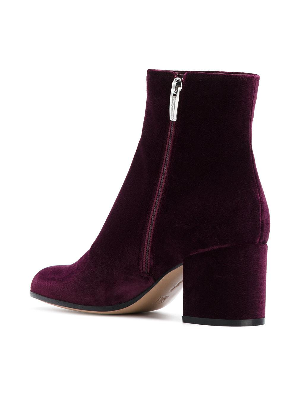 Margaux ankle boots - Pink & Purple Gianvito Rossi chjlpcK