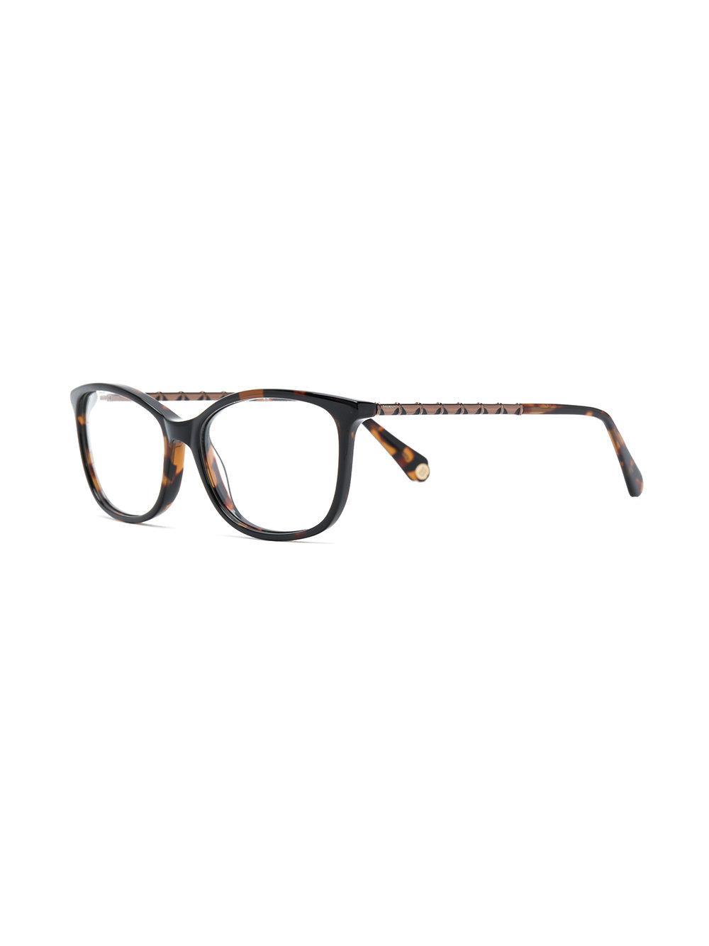 f9cf5c6f6f2 Balmain Tortoiseshell Effect Eye Glasses in Brown - Lyst