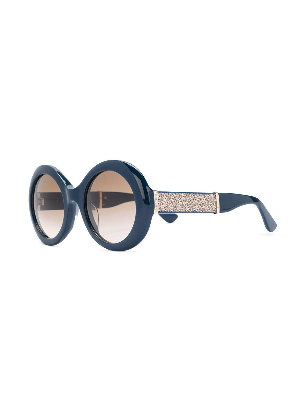 8cfe1556a5 Lyst - Jimmy Choo Wendy s Sunglasses in Blue