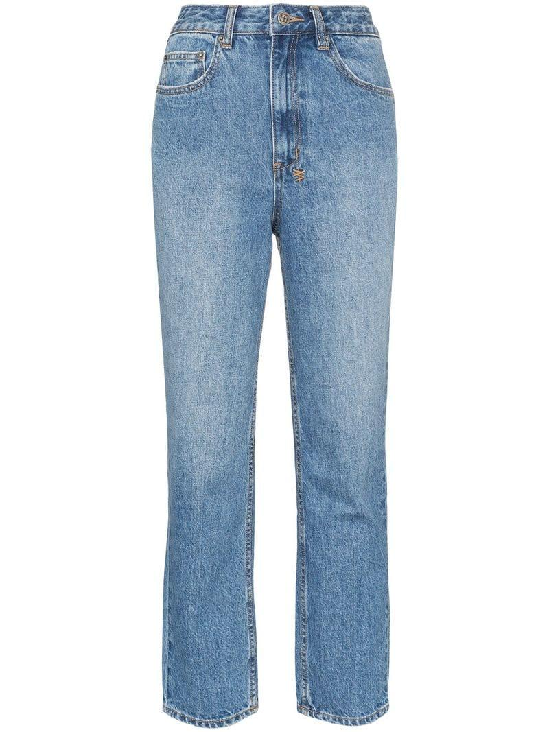 0dcebc6126a Lyst - Ksubi Chlo Young American Jeans in Blue