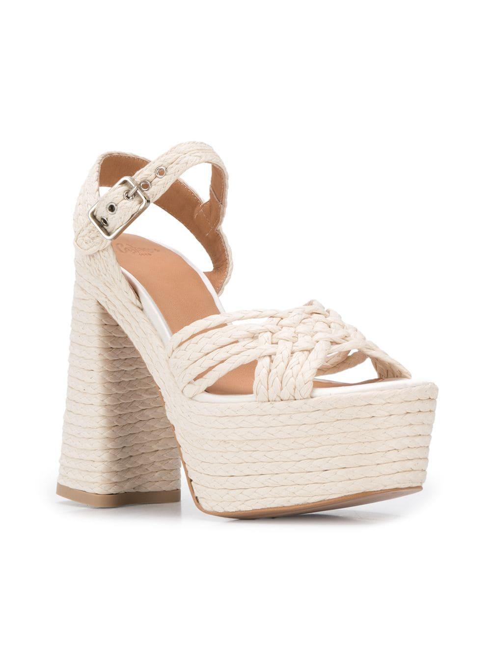 1bf3c7281ac5 Lyst - Castaner Abril Sandals in White