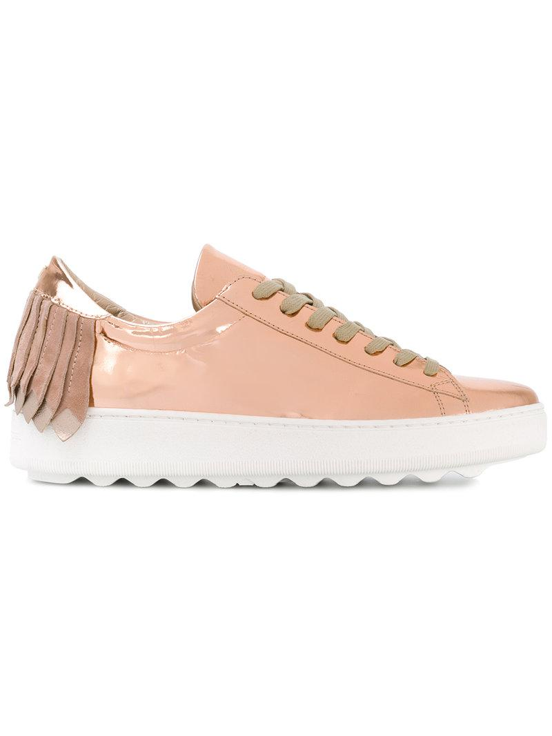 Chaussures De Sport - Frangés Modèle Rose Et Violet Philippe yyA4LSo